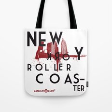 New York Rollercoaster Tote Bag