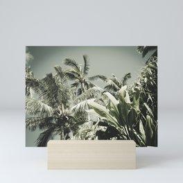 Kuau Hawaii Tropical Palms Sea Green Paia Maui Mini Art Print