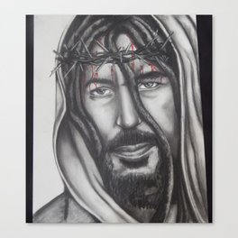 Nombre De Jesus (with dreads) Canvas Print