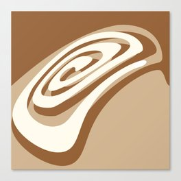 Cinnamon Roll Canvas Print