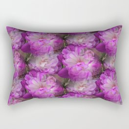 Plenty of peony tulips Rectangular Pillow