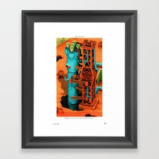 POP HELL #7 Framed Art Print