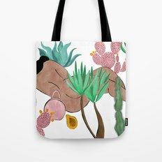 Garden Nap Tote Bag
