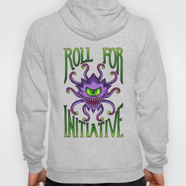 Roll for Initiative - Green Hoody