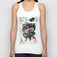 panther Tank Tops featuring Panther by fishero