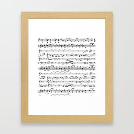 Musical Framed Art Print