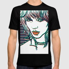 Freja Mens Fitted Tee Black SMALL