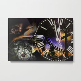 Time Project- Psalm 119:126 Metal Print