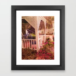 BEAUTY OF FLOWERS Framed Art Print
