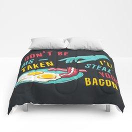 Bacon Thief Comforters