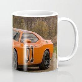 Hugger Orange Challenger RT Dukes of Hazard Coffee Mug