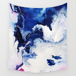 Riveting Abstract Watercolor Painting Wall Tapestry