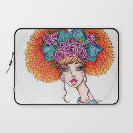 JennyMannoArt Colored Illustration/Jane Laptop Sleeve