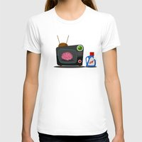 tv T-shirts featuring Television by Mountain Top Designs