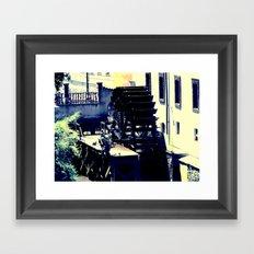 what goes around... Framed Art Print