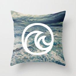 The Living Seas Throw Pillow