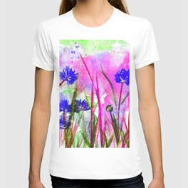 Corn Flower Blossom T-shirt