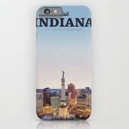Visit Indiana iPhone Case