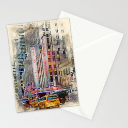 Radio City NYC Stationery Cards