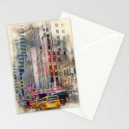 Radio City NYC Stationery Cards