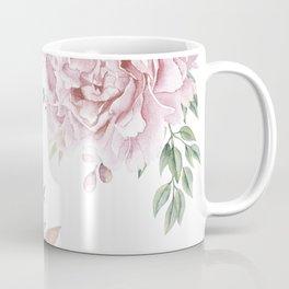 Pink Roses Duet Coffee Mug