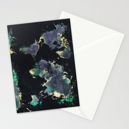 world map 126 #worldmap #map Stationery Cards