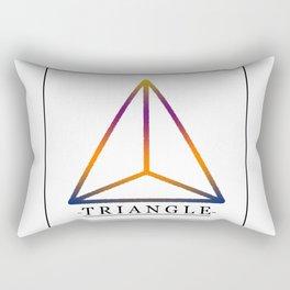 T R I A N G L E Rectangular Pillow