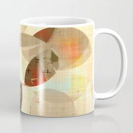 Mod art, circle art, Mid Century Modern Coffee Mug
