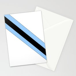 flag of bostwana 2 – Batswana,Motswana,botsuano,botsuanés,Gaborone. Stationery Cards