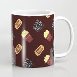 Movie (Dark Red) Coffee Mug