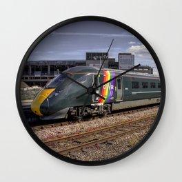 Trainbow Wall Clock