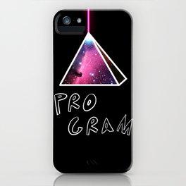 PROGRAM iPhone Case