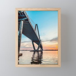 Ancora Qui Framed Mini Art Print