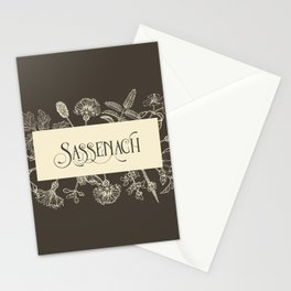 Sassenach in Sepia Stationery Cards