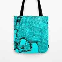 catcher in the rye Tote Bags featuring Lineart Rye by Hollis Campbell