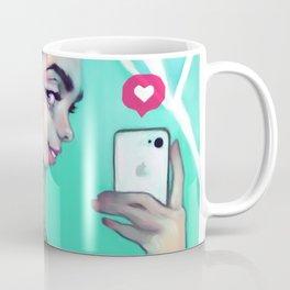 Selfie Girl Coffee Mug