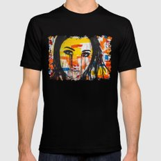 The unseen emotions of her innocence Black MEDIUM Mens Fitted Tee