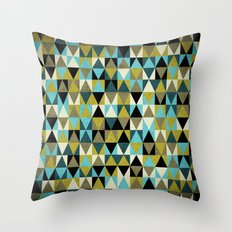 Triangles I Throw Pillow