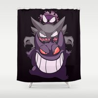 nightmare Shower Curtains featuring Nightmare by Jinny Hinkle