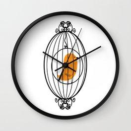 Caged Birdsong Wall Clock