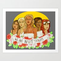 MAD MAX: FURY ROAD- We Are NOT Things Art Print