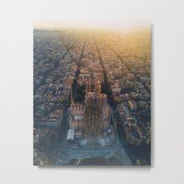 La Sagrada Familia - Barcelona, Spain Metal Print