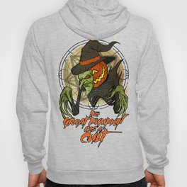 Cult of the Great Pumpkin: Witch Mask Hoody