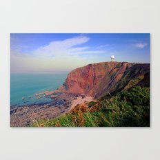 Hartland point Canvas Print
