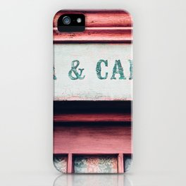 Tea & Cakes iPhone Case