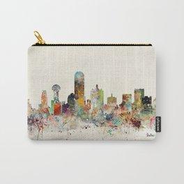 dallas texas skyline Carry-All Pouch