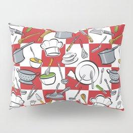 Kitchen Tools Check Pillow Sham