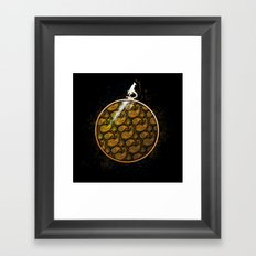 Extravagant Organisms Framed Art Print