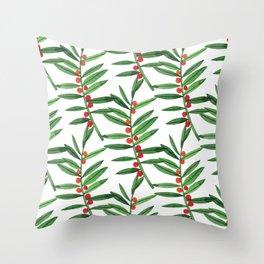 Botanic Watercolor Collection #20 Throw Pillow