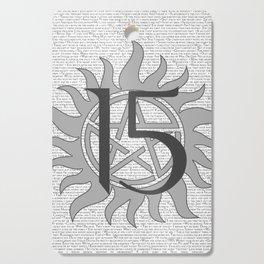 SPN Print (Grey) Cutting Board